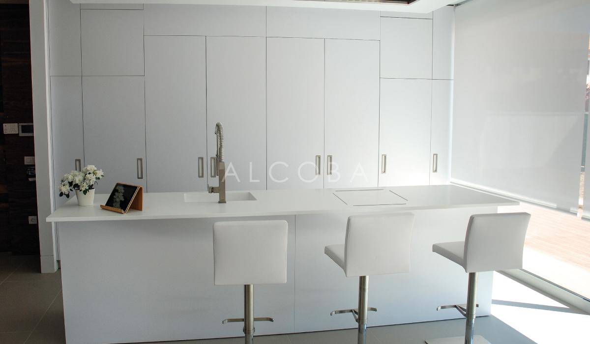 Cocina blanco seda CL02